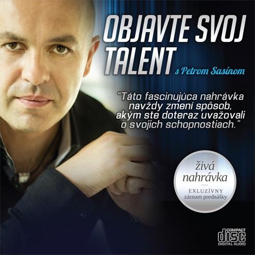 Objavte svoj talent - Peter Sasín (Audiokniha)