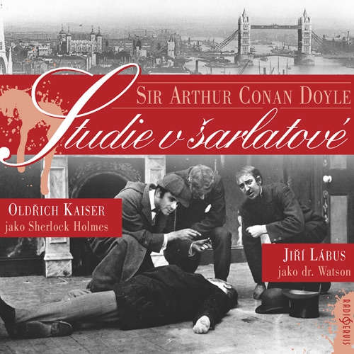Audiokniha Studie v šarlatové - Arthur Conan Doyle - Jiří Lábus