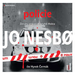 Audiokniha Policie - Jo Nesbo - Hynek Čermák