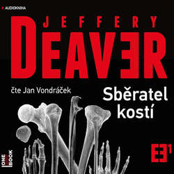 Audiokniha Sběratel kostí - Jeffery Deaver - Jan Vondráček