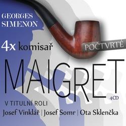 4x komisař Maigret počtvrté - Georges Simenon (Audiokniha)