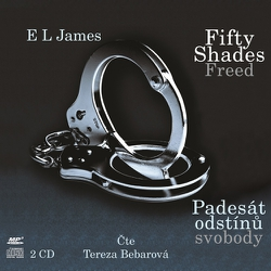 Fifty Shades Freed: Padesát odstínů svobody - E L James (Audiokniha)
