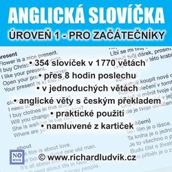 Anglická slovíčka - úroveň 1 pro začátečníky - Richard Ludvík (Audiobook)