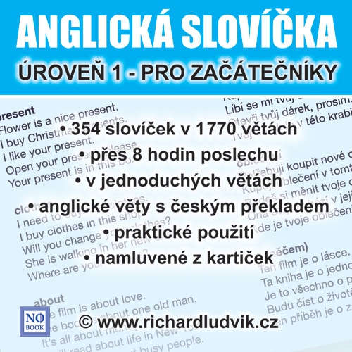 Audiobook Anglická slovíčka - úroveň 1 pro začátečníky - Richard Ludvík - Richard  Ludvík
