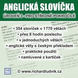 Anglická slovíčka - úroveň 3 pro středně pokročilé - Richard Ludvík (Audiobook)