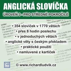 Audiobook Anglická slovíčka - úroveň 3 pro středně pokročilé - Richard Ludvík - Richard  Ludvík