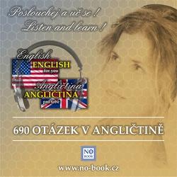 690 otázek v angličtině - od začátečníků po středně pokročilé - Richard Ludvík (Audiokniha)