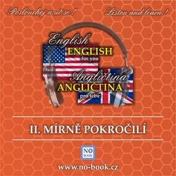 Angličtina pro tebe 2 - mírně pokročilí - Richard Ludvík (Audiobook)