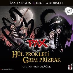 PAX 1,2: Hůl prokletí, Grim přízrak - Asa Larsson (Audiokniha)