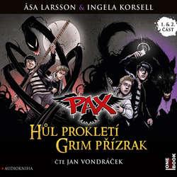 Audiokniha PAX 1,2: Hůl prokletí, Grim přízrak - Asa Larsson - Jan Vondráček
