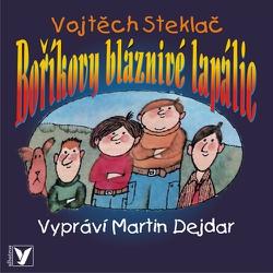 Boříkovy bláznivé lapálie - Vojtěch Steklač (Audiokniha)