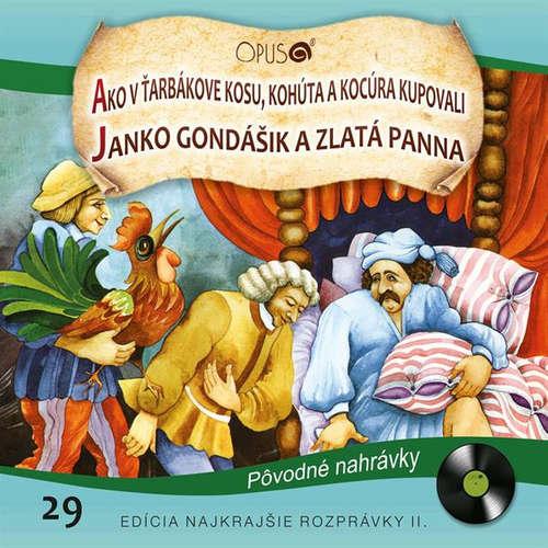 Audiokniha Najkrajšie rozprávky 29 - Ondrej Sliacky - Gustáv Valach