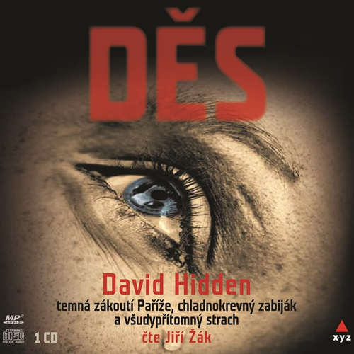 Audiokniha Děs - David Hidden - Jiří Žák