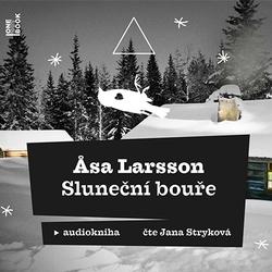 Sluneční bouře - Asa Larsson (Audiokniha)