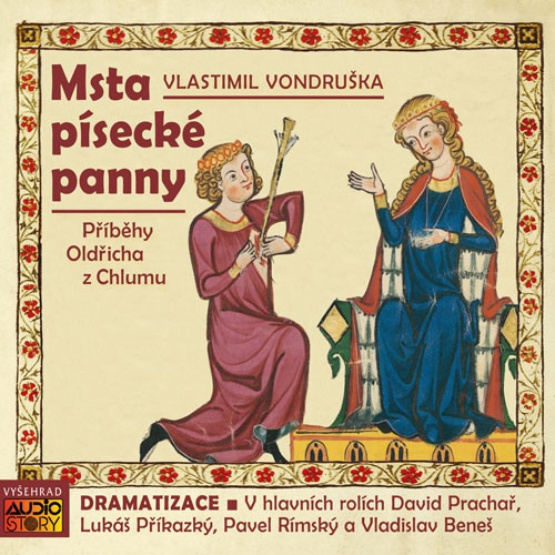 Msta písecké panny - Vlastimil Vondruška (Audiokniha)