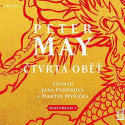 Audiokniha Čtvrtá oběť - Peter May - Martin Myšička