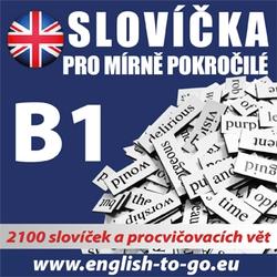 Angličtina - slovíčka pro mírně pokročilé B1  - Rôzni Autori (Audiokniha)