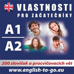 Angličtina  - vlastnosti pro začátečníky A1, A2  - Rôzni Autori (Audiokniha)