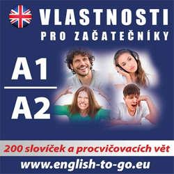 Audiokniha Angličtina  - vlastnosti pro začátečníky A1, A2  - Various authors -  Různí