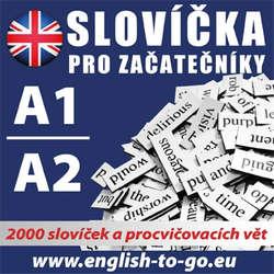 Audiokniha Angličtina - slovíčka pro začátečníky A1, A2 - Rôzni autori -  Různí