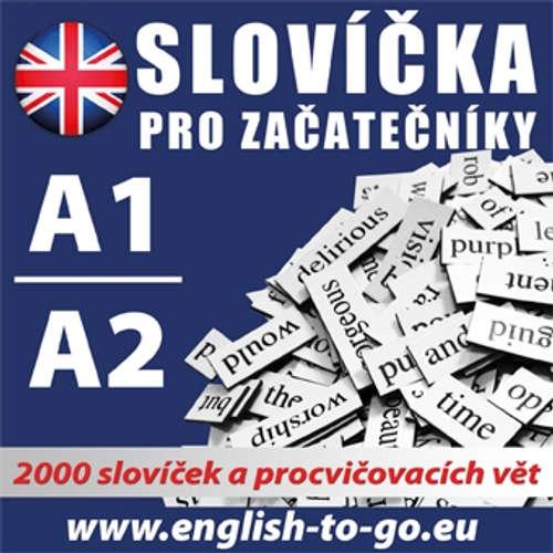 Audiokniha Angličtina - slovíčka pro začátečníky A1, A2 - Různí autoři -  Různí