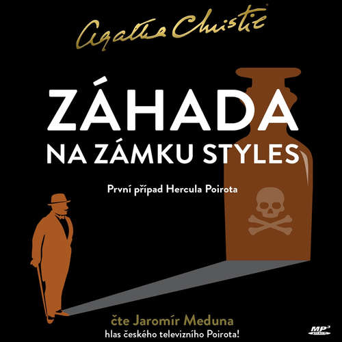 Audiokniha Záhada na zámku Styles - Agatha Christie - Jaromír Meduna