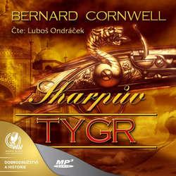Audiokniha Sharpův tygr - Bernard Cornwell - Luboš Ondráček