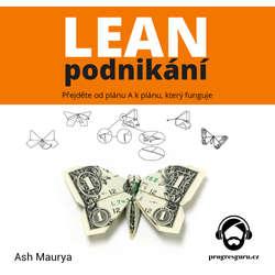 Audiokniha Lean podnikání - Ash Maurya - Jan Hyhlík
