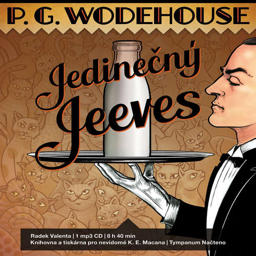 Audiokniha Jedinečný Jeeves - Pelham Grenville Wodehouse - Radek Valenta
