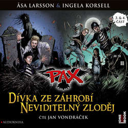 Audiokniha PAX 3,4: Dívka ze záhrobí, Neviditelný zloděj - Asa Larsson - Jan Vondráček