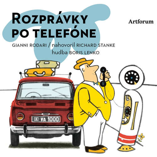 Audiokniha Rozprávky po telefóne - Gianni Rodari - Richard Stanke