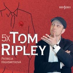 5x Tom Ripley - Patricia Highsmithová (Audiokniha)