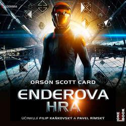 Audiokniha Enderova hra - Orson Scott Card - Pavel Rímský