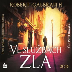 Ve službách zla - Robert Galbraith (Audiokniha)