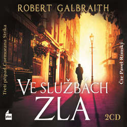 Audiokniha Ve službách zla - Robert Galbraith - Pavel Rímský