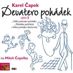 Audiokniha Devatero pohádek (výběr 3) - Karel Čapek - Miloň Čepelka