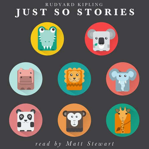 Audiobook Just So Stories (EN) - Rudyard Kipling - Matt Stewart