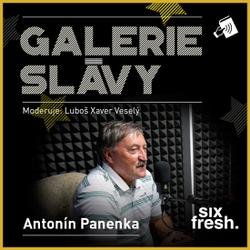 Galerie slávy - Antonín Panenka - Luboš Xaver Veselý (Audiokniha)