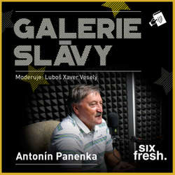 Audiokniha Galerie slávy - Antonín Panenka - Luboš Xaver Veselý - Antonín Panenka