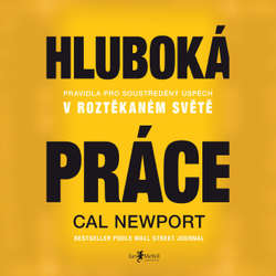 Audiokniha Hluboká práce - Cal Newport - Petr Theodor Pidrman