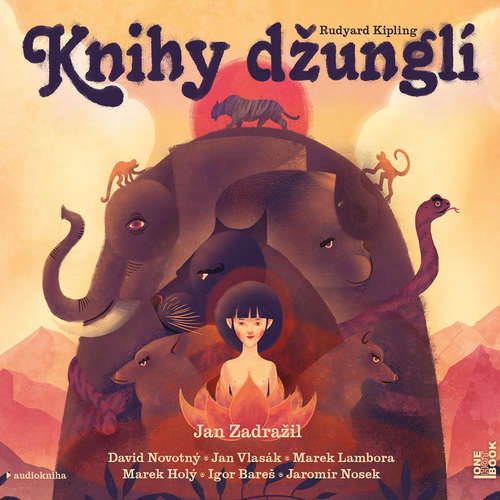 Audiokniha Knihy džunglí - Rudyard Kipling - David Novotný
