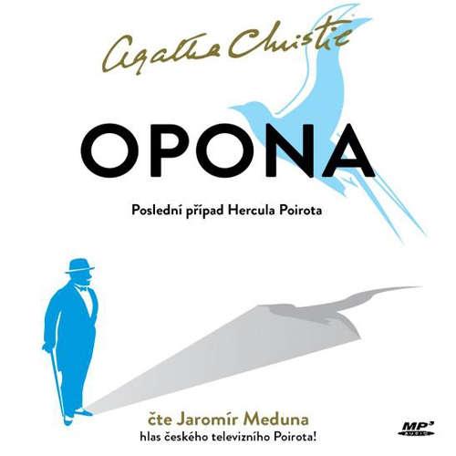 Audiokniha Opona. Poslední případ Hercula Poirota - Agatha Christie - Jaromír Meduna