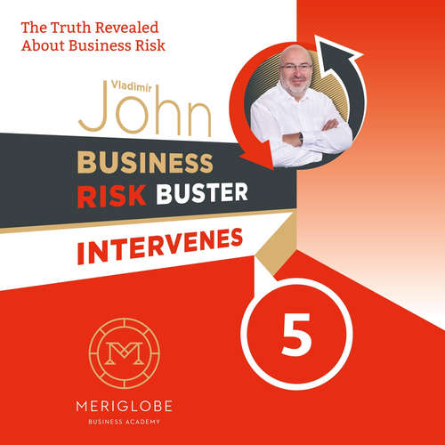 Audiokniha Business Risk Buster Intervenes 5 - Vladimír John - Jon Keeble