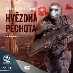 Audiokniha Hvězdná pěchota - Robert A. Heinlein - Ludvík Král