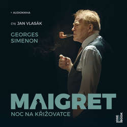 Audiokniha Maigret: Noc na křižovatce - Georges Simenon - Jan Vlasák