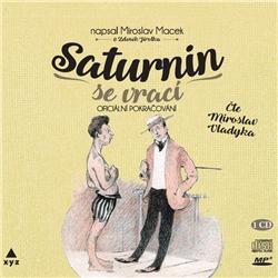 Saturnin se vrací - Petr Macek (Audiokniha)