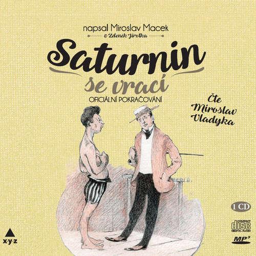 Audiokniha Saturnin se vrací - Miroslav Macek - Miroslav Vladyka