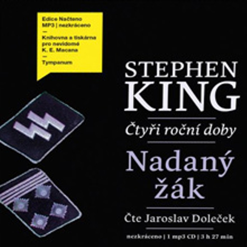 Nadaný žák - Stephen King (Audiokniha)