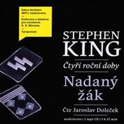 Audiokniha Nadaný žák - Stephen King - Jaroslav Doleček