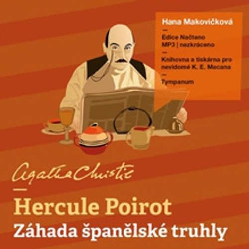 Audiokniha Hercule Poirot - Záhada španělské truhly - Agatha Christie - Hana Makovičková